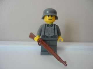 Custom World War 2 German Soldier Lego
