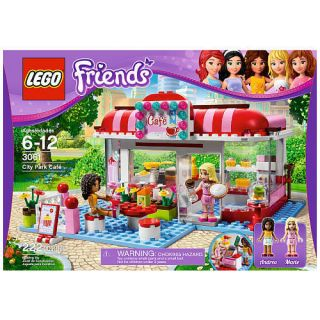 LEGO FRIENDS City Park Cafe Legos 3061 Girl Lego Toys Building Blocks