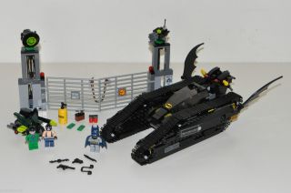 Lego Batman 7787 Bat Tank Riddler Bane Hideout Complete Set Manual