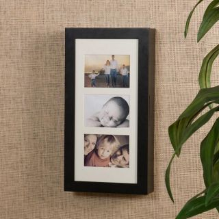 Photo Display Wall Mount Black Jewelry Armoire
