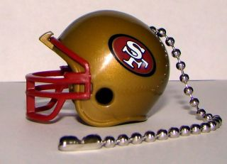 Light Ceiling Fan Pull Chain San Francisco 49ers NFL Football