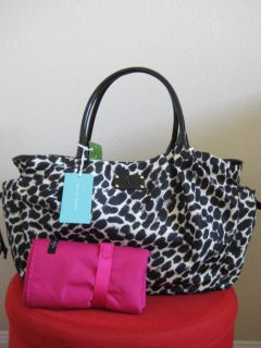 Kate Spade Lindenwood Stevie Diaper Bag Safari