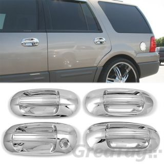 FOR LINCOLN NAVIGATOR FORD EXPEDITION CHROME PAINTED DOOR HANDLE COVER