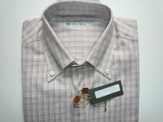 Loro Piana Classic Oxford Cotton Casual Dress Shirt NWT
