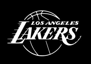 Los Angeles Lakers Logo Decal Sticker La