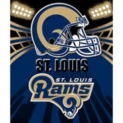50x60 Saint Louis Rams Fleece Blanket Officially Licensed Throw NFL St