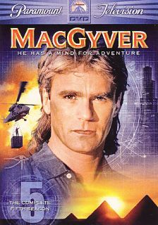 MacGyver The Complete Fifth Season DVD 2006 6 Disc Set