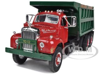 Mack B 61 Dual Axle Dump Truck 1 34 Diecast Model Car by First Gear 10