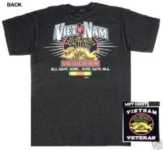 Vietnam Veteran T Shirt US Army Navy Marine Corps Air Force USMC USN