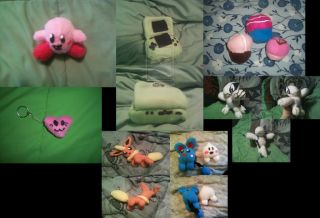 Custom Plushie Commission Pokemon Geekery Kirby Art Cute Anime