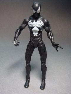 Hasbro Marvel Comics Black Spider Man 6 Action Figure Loose Condition