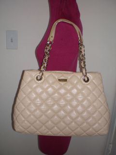 Kate Spade New York Gold Coast Maryanne Quilted Leather Handbag Pre