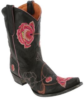 Old Gringo Black Leather Marsha 10 Western Boots Womens