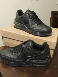 Nike Kids Boys Shoes Air Max Wright GS 317934 002 Black New
