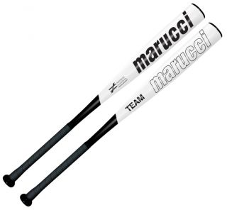 Marucci MSB210 Team Black 32 22oz 10 Senior League Baseball Bat