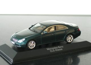 Wonderful Mercedes Benz CLS Class Greenmetallic 2007