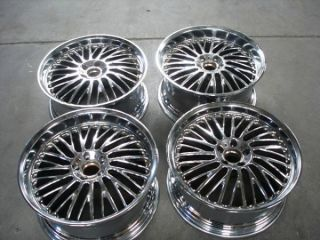 Set Chrome Forge Tec FT42 Mercedes Alloy Wheels 20