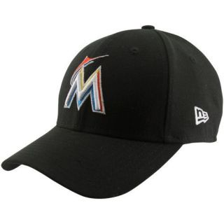 New Era Miami Marlins Youth Pinch Hitter Hat Black