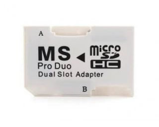 Memory Stick Pro Duo Card Adapter for Micro SD 1GB 2GB 4GB 8GB 16GB