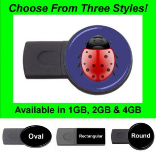 Ladybug Design 2 USB Flash Memory Drive Stick Thumb Pen FD1458
