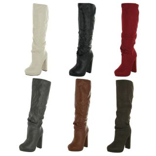 Michael Antonio Baldwin Womens Knee High Boots Riding