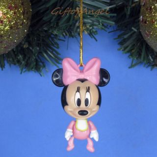 Ornament Xmas Tree Home Decor Disney Mickey Minnie Mouse Baby A243