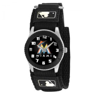 Miami Marlins MLB Baseball Wrist Watch Velcro Strap Wristwatch Kid