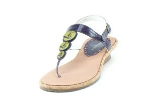 Kid Express Peggie Sandal Purple Translucent Size 4 New