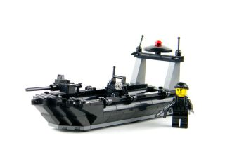 Custom Lego Navy Seal Rhib Boat Military Minifigure Complete Set