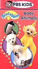 Teletubbies   Baby Animals VHS, 2001