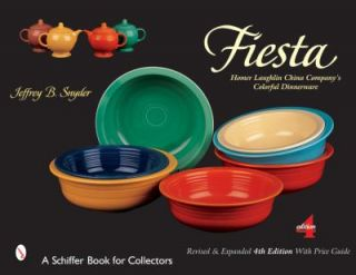 Fiesta The Homer Laughlin China Companys Colorful Dinnerware by