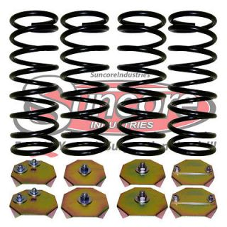 Heavy Duty Rear Suspension Air Bag to Coil Spring Conversion Kit