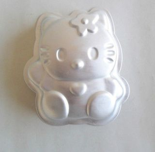 listed 1PCS hello kitty shape Aluminum cake pan baking mold cake mold