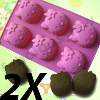 Hello Kitty Cupcake Muffin Baking Mould Mold Cake Bakeware Pan