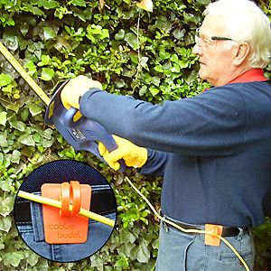 Cable Buddy   Electric Lawn Power Tool Cord Belt Holder