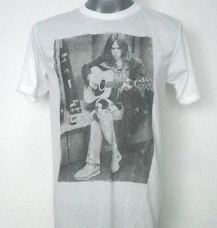 NEIL YOUNG T  SHIRT WHITE SIZE Medium