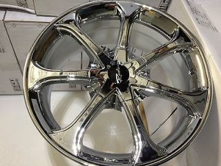 Chrome Raceline Wheels Rims Lincoln MKZ Town Car Aviator Zephyr 5x4.5