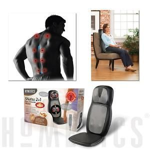 Homedics Shiatsu 2 in 1 Back & Neck Massager with Heat