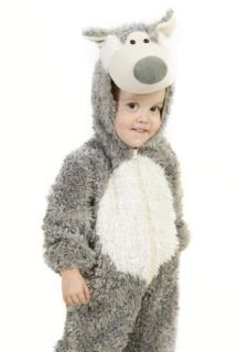 Baby Big Bad Wolf Outfit Cute Infant Toddler Halloween Costume