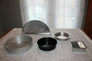 Cake Pans Professional Baker Baking Catering Supplies Chef Assorted