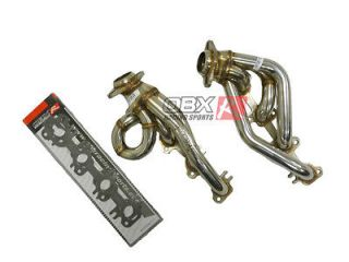 02 03 04 Dodge Ram 1500 4.7L V8 2 & 4 WD OBX Exhaust Header Shorty