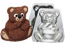 Mini Stand Up Bear Baking Cake Pan by Wilton