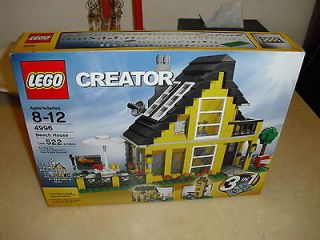 Lego 4996 Creator Beach House   Sealed