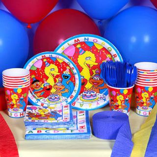 Sesame Street ABC Big Birds ELMO Birthday Party Supply Choices   U