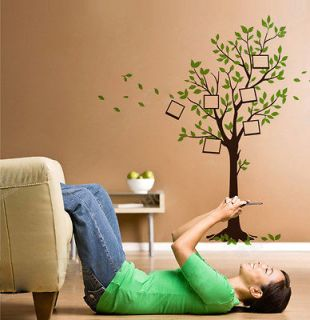 Newly listed New Photo Frame Tree Leaves Wall Stickers Decals Decor