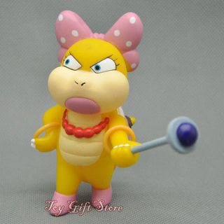 Super Mario Bros Wii Wendyo KOOPA Posable Action Figure 9 CM #2