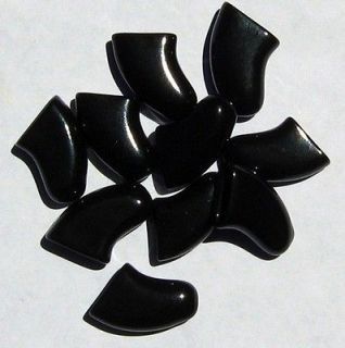 BLACK Soft Nail Caps For DOG Claws * 6 Sizes to choose from * Purrdy