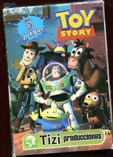 TOY STORY PLAYING CARDS + Box MINT Argentina