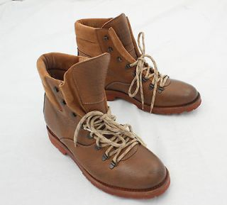 Brunello Cucinelli Leather Luxury Boots Shoes US 10.5 EUR 43.5 NEW