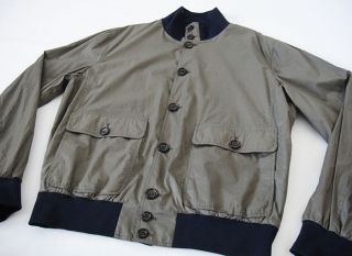 1,899 Italy BRUNELLO CUCINELLI Ultrafine Roadster Bomber Jacket X